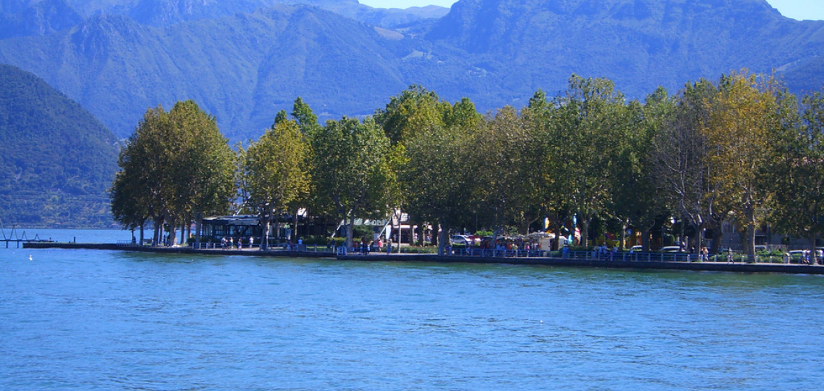 Photo of Lake Iseo