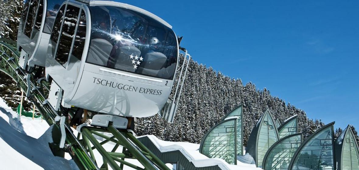 Photo of Tschuggen Grand Hotel