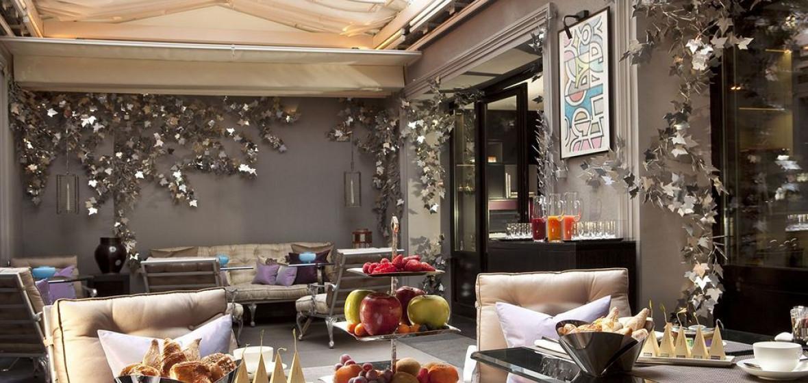 Les jardins de la villa paris france the hotel guru for Les jardins de la villa hotel paris