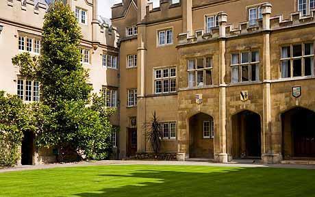 Photo of Sidney Sussex College, Cambridge