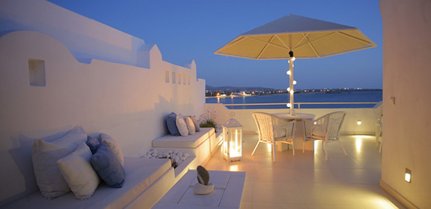 Hotel glaros naxos town greece expert reviews and for Boutique hotel glaros