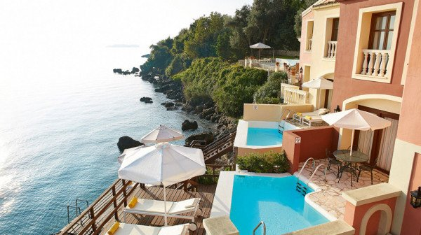 With A Great Position Overlooking The Sea And Walking Distance To Corfu Town Palace Is Grande Dame Of Island S Hotels