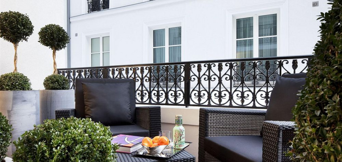 Les jardins de la villa paris france the hotel guru for Les jardins de la villa booking
