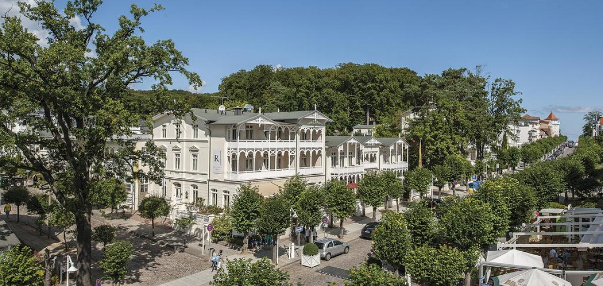 Roewers privathotel rugen 18586 ostseebad sellin for Villa sellin rugen