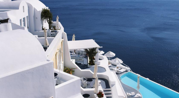 And What Could Be More Relaxing Rejuvenating Than Just Looking Out Onto This Amazing View From The Comfort Of One Best Hotel Pools On Santorini