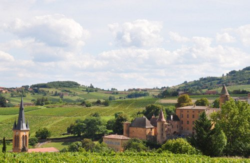 Beaujolais countryside
