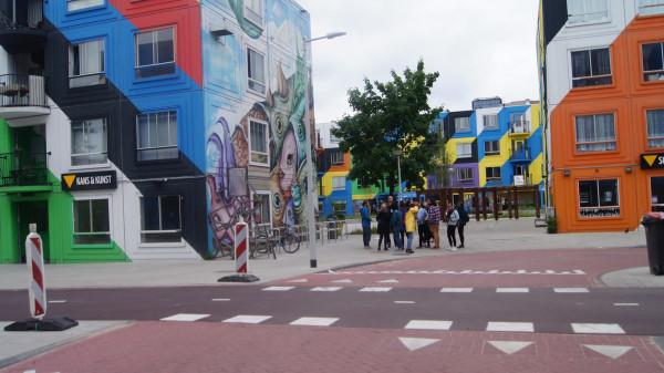 Mural created through Reflexo on Urban Art