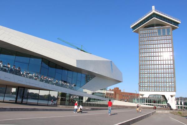 EYE Filmmuseum and A'DAM Toren