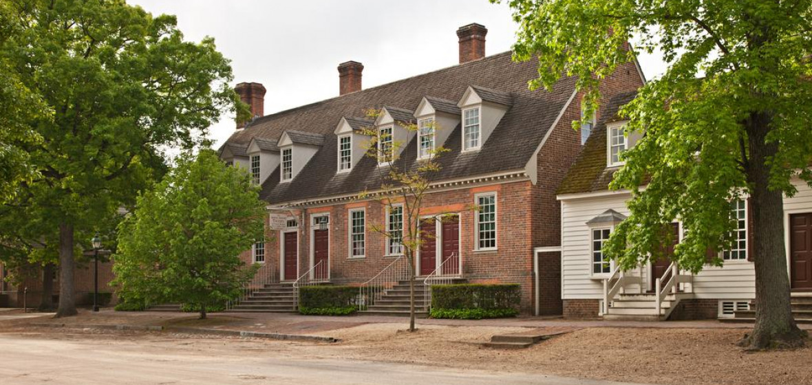 Photo of Williamsburg Colonial Houses