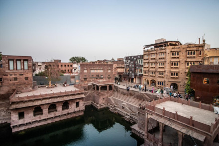 Stepwell House