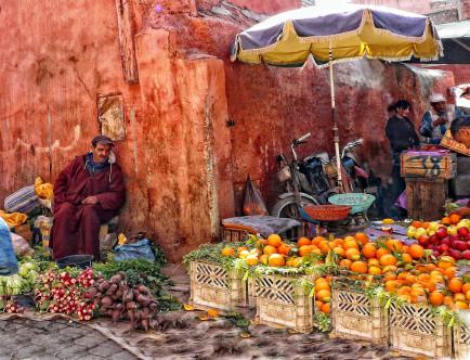 Bab Doukkala Food Market