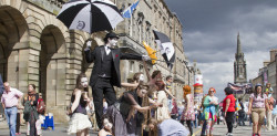 Edinburgh celebrates its 70th festival year!