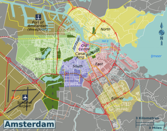 Amsterdam neighbourhood guide