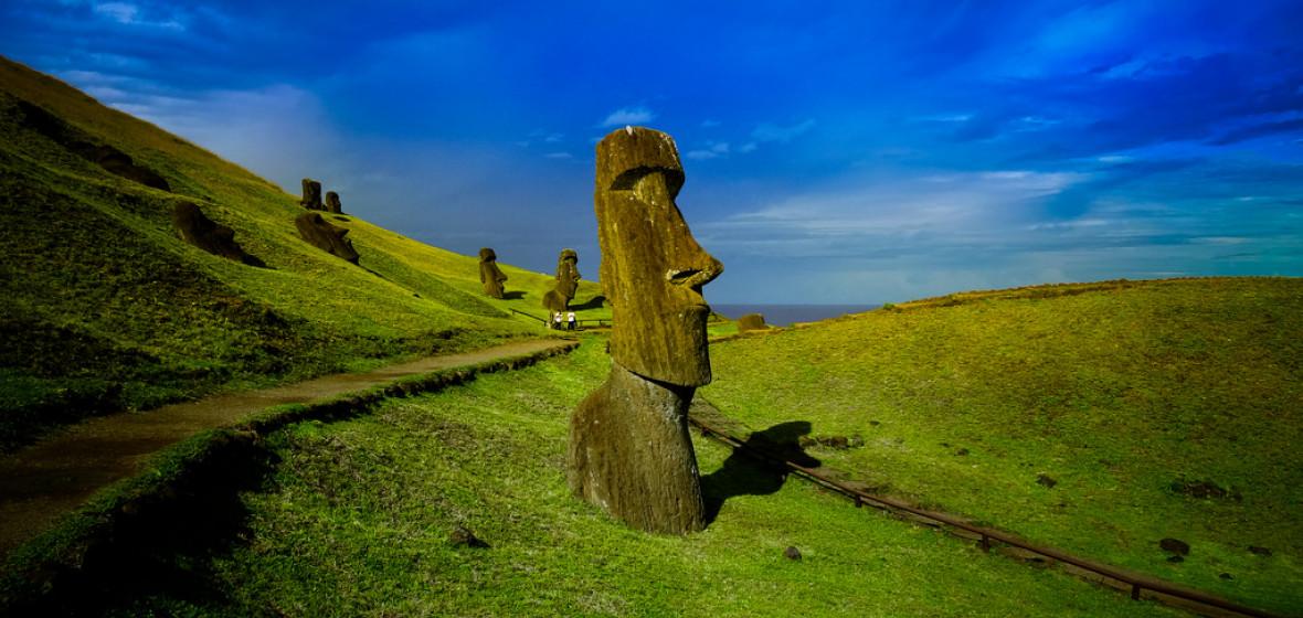 Photo of Easter Island