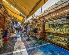 6 Great Hotels near Athens's Flea Market