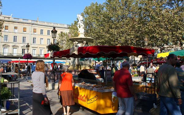 Carcassonne Market Place Carnot