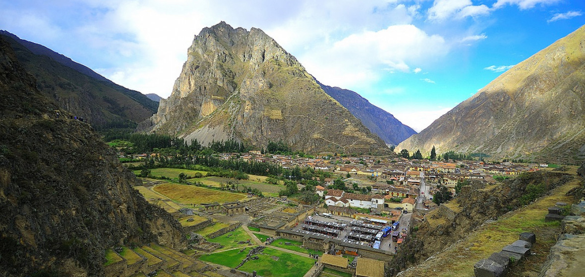 Photo of Ollantaytambo